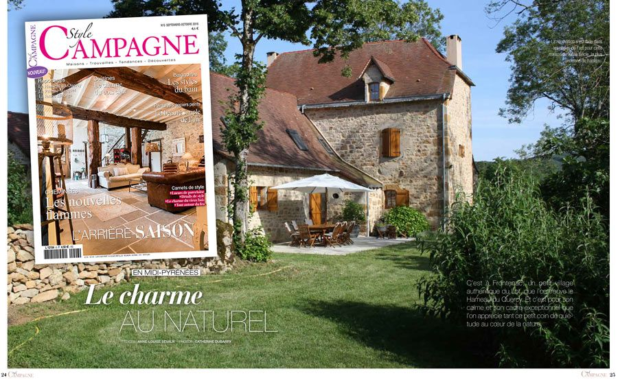 article presse style campagne